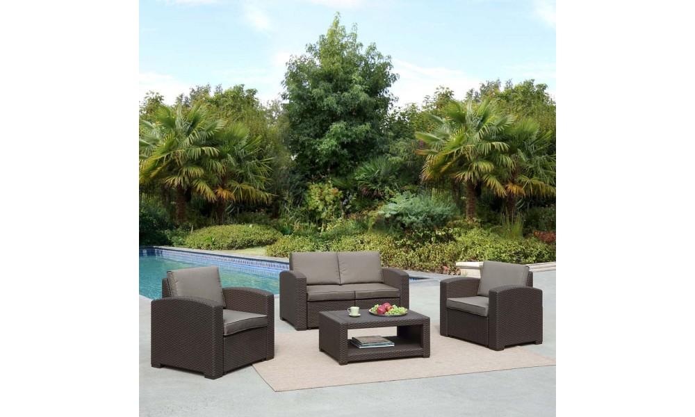 Комплект мебели AFM-2017B Dark brown
