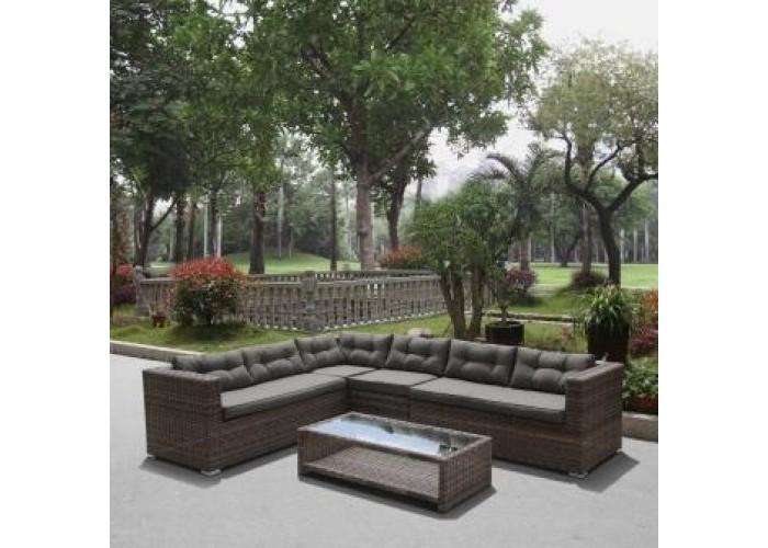 Комплект плетеной мебели AFM-305A Brown/Olive