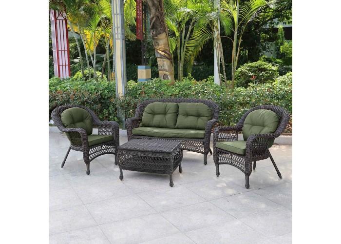 Комплект плетеной мебели LV520